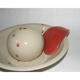 6204 sehr kleines Keramikblatt